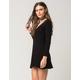FULL TILT V-Neck Sweater Dress