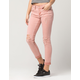 ZCO Destructed Roll Cuff Womens Jeans