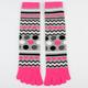 FULL TILT Womens Toe Socks