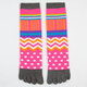 FULL TILT Womens Toe Socks