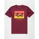 LAST KINGS Sunset Mens T-Shirt