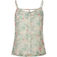 FULL TILT Floral Lattice Back Womens Tank