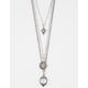 FULL TILT 3 Layer Stone Necklace
