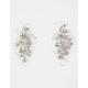 FULL TILT Beaded Hoop Chandelier Earrings