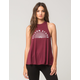 VOLCOM Cover Ur Basics Womens Tank
