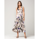 FREE PEOPLE Sure Thing Floral Maxi Dress