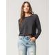 FULL TILT Raglan Womens Crop Sweatshirt