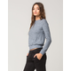 FULL TILT Brushed Knit Womens Sweatshirt