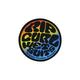 RIP CURL Rainbow Wetty Sticker