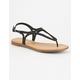 CITY CLASSIFIED T-Strap Braid Womens Sandals