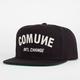 COMUNE Letterman Mens Snapback Hat