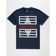 ASPHALT YACHT CLUB Vertical Split Lockup Mens T-Shirt