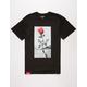 LA FAMILIA Concrete Rose Mens T-Shirt