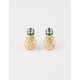 FULL TILT Pineapple Stud Earrings