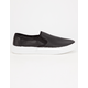 QUPID Perforated Slip-On Womens Shoes