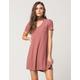 BLU PEPPER Knit Keyhole Dress