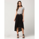 FULL TILT Tiered Midi Skirt