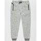BROOKLYN CLOTH Marled Fleece Boys Jogger Pants