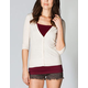 FULL TILT Essential Womens Elbow Sleeve Cardigan
