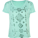 FULL TILT Tribal Womens Boxy Crop Tee