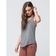 BOZZOLO Solid Womens Pocket Tank