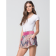 PATRONS OF PEACE Patchwork Womens Shorts