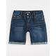 SCISSOR Rolled Girls Bermuda Denim Shorts