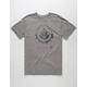 RVCA Leaf And Gear Mens T-Shirt