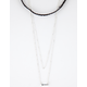 FULL TILT 2 Pack Layered Arrow Necklace