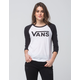 VANS Low Rider Womens Raglan Tee