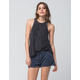 OTHERS FOLLOW Lace Up Womens Knit Shorts