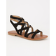 CITY CLASSIFIED Strappy Ghillie Womens Sandals