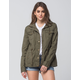 ASHLEY Zip Twill Womens Anorak Jacket
