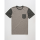 RVCA Change Up Mens Pocket Tee