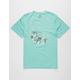 VISSLA Shark Alley Mens T-Shirt
