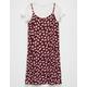 H.I.P. Ditsy 2fer Girls Tee Dress