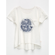 ROXY Surf Everywhere Girls Pocket Tee