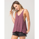 FREE PEOPLE Wear Me Now Womens Tank