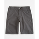 VOLCOM Frickin Static Black Boys Hybrid Shorts