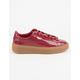 PUMA Basket Platform Patent Womens Shoes