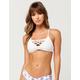QUINTSOUL Strap Front Bikini Top