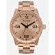 NIXON G.I. SS Rose Gold Watch