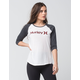 HURLEY One & Only Womens Raglan Tee