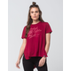 REBEL8 Rose And Dagger Womens Tee