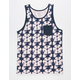 SHOUTHOUSE Haight Mens Pocket Tank Top