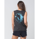 I.O.C. By Icons International Surf Womens Muscle Tee