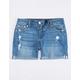 SCISSOR Rolled Girls Bermuda Denim Shorts