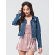 FULL TILT Fray Crop Womens Denim Jacket