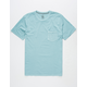VOLCOM Pale Wash Mens Pocket Tee