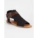 SODA Hooded Buckle Womens Sandals